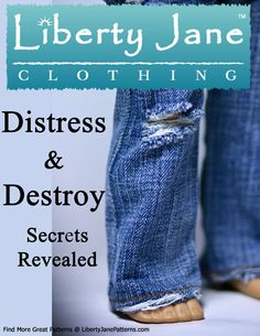 """Distress your denim, this is the updated product that has replaced """"denimolition"""""""