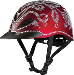 Horse Riding Helmet Self-Stick Bling