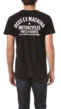 Deus Ex Machina Address T-Shirt