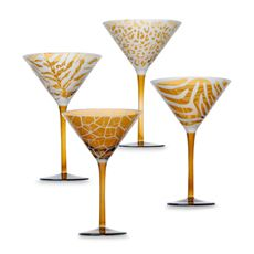 Party in a martini glass