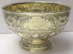 Victorian Silver Rose Bowl (London)