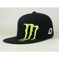 8903e965e5c3d Monster Energy Fitted Hat   Cap