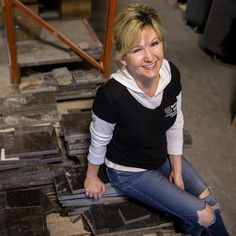 Julie Rizzo created Recycled Granite in 2009, inspired by noticing the waste from countertops. Now it's a $5 million business that has diverted more than 30 million pounds of waste into other uses.