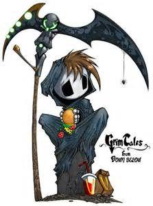 Cute Chibi Girl Grim Reaper - Bing images
