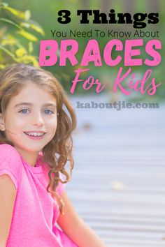 So many children get braces these days - and you may be wondering if your child needs them - here's what you need to know about braces for kids #Kids #Braces #KidsBraces #KidsDentalHealth #Orthodontist #Orthodontic #OrthodonticTreatment #Dental #DentalHealth #Parenting Step Parenting, Parenting Styles, Parenting Advice, Kids Braces, Health Matters, Work From Home Moms, Orthodontics, Dental Health