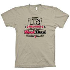 Bad beat poker tshirt