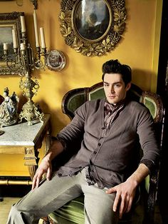 That hair. That sweater. And Matthew McNulty wearing them.