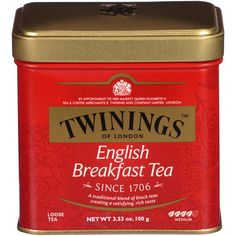 Twinings English Breakfast Tea Loose
