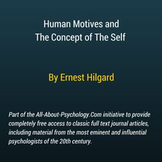 Articles on human psychology