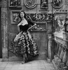 Gown by Simonetta Visconti, Rome 1952   Kristine   Flickr 23668f03b5d
