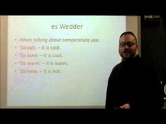 PA Dutch 101: Video 18 - The Weather.m4v