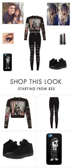 """Babysitting With Jack"" by nikolestyles ❤ liked on Polyvore featuring FAUSTO PUGLISI, Converse and Tribes"