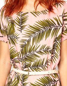 Ganni Dress in Palm Print SS 2013