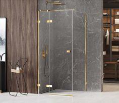 Złota kabina prysznicowa New Trendy Avexa Gold Shine. ------------------ #newtrendy #remontujemy #kabinaprysznicowa #BathroomShower #ShowerSystems #kabinyprysznicowe #kabina #mieszkaniewbloku #inspiracjewnetrz #aranzacjawnetrz #aranżacja #bathroominspiration Shower Cabin, Trendy, Cabins, Shower Enclosure, Cottages, Cabin, Sheds