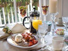 Dicas de cardápios saudáveis para o café da manhã.