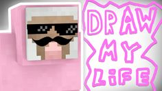 Popular Right Now l Draw My Life Pink Sheep Pink Sheep, Draw, Popular, Zero, Purple, Youtube, Life, Channel, Funny