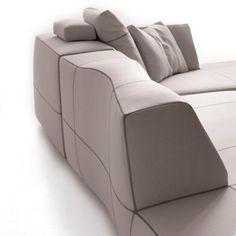 Bend Sofa Comp B004A by B&B Italia - Patricia Urquiola
