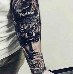tattoos wolf howling tattoos for men men s style fashion for men ...