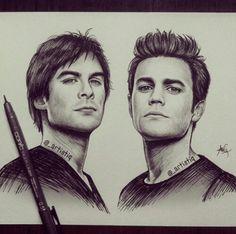 Vampire diaries drawing cool drawing