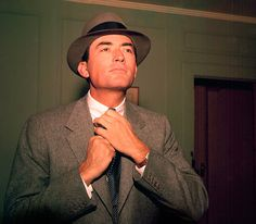 """#Flannel #1956 Gregory Peck, """"The Man in the Gray Flannel Suit"""""""