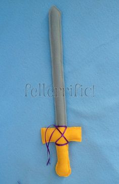 Handmade Felt Play Sword by felterrific on Etsy, $7.00