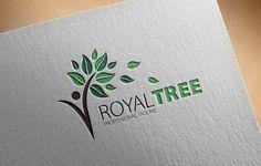 Royal Tree Logo by fastudiomedia on @creativemarket