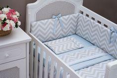 Chevron no quarto de bebê: zig-zag divertido e moderninho