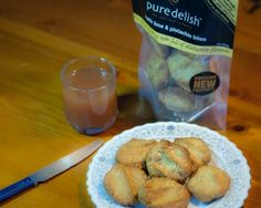 Kaffir lime & pistachio bites | Pure Delish These distinctive and flavour packed bites are the perfect little snack – packed full of almonds, pistachio's, organic coconut with a dash of kaffir lime and real vanilla extract they are a real taste sensation!!  #glutenfree | www.puredelish.co.nz/where-to-buy/ Kaffir Lime, Almonds, Pistachio, Glutenfree, Delish, Vanilla, Paleo, Coconut, Organic