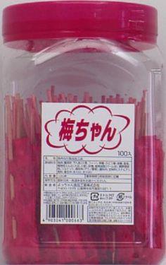 Amazon.co.jp: よっちゃん 梅ちゃん 100本入: 食品・飲料・お酒