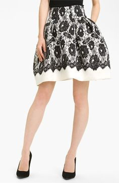 Milly 'Karina' Skirt available at #Nordstrom....i could figure out how to sew this right?