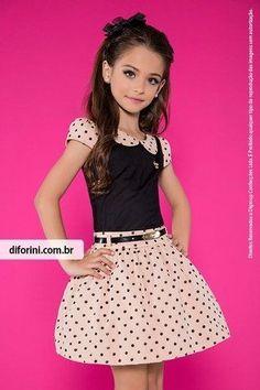 Lila Baby e Cia Moda Infantil Kids Outfits Girls, Cute Girl Outfits, Little Girl Dresses, Girls Dresses, Young Fashion, Tween Fashion, Lila Baby, Cute Little Girls, Kind Mode