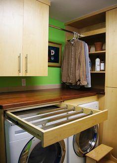 Drawer & Hanging Drying Racks