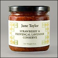 Strawberry & Provencal Lavender June Taylor offers Fruit Confections & Preserves Hands-on Classes Consultation & Training. Subscribe to their newsletter http://www.junetaylorjams.com/