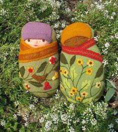2 Felt babies in the garden | Flickr - Photo Sharing!http://www.flickr.com/photos/mimik/