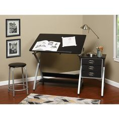 Shop a great selection of Svendsen Drafting Table Symple Stuff. Find new offer and Similar products for Svendsen Drafting Table Symple Stuff. Wood Drafting Table, Drafting Desk, Desk Shelves, Low Shelves, Shelf, Fabric Drawers, Computer Desk With Hutch, Craft Station, Solid Wood Desk
