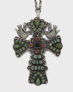 ancient crosses | ... Pendants - Ancient Cultures, Original Designs: Mexican Cross Pendant