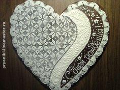 Valentine Cookies, Christmas Cookies, Valentines Day, Lace Cookies, Heart Cookies, Cookies Decorados, Fancy Schmancy, Sweet Pastries, Wedding Boxes