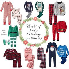 The best selections of kids holiday pajamas Holiday Pajamas e8323836c
