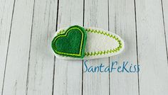 Girls Hair Clip Covered Hair Clips for Girls and by SantaFeKiss