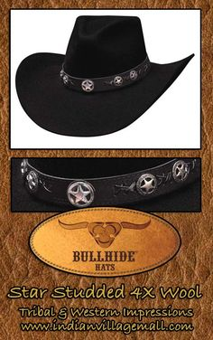 Bullhide Western Cowgirl And Cowboy Hat Collection From Tribal And Western Impressions- Review the collection off of: http://www.indianvillagemall.com/bullhidehats.html