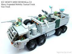 https://flic.kr/p/v9pRXN | ICC HEMTT M985 | Gun Truck Mobile Bunker