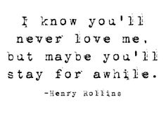 Henry Rollins Quote #quote #henryrollins #love