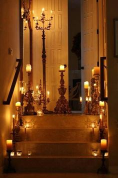 Candle light......but use LED lights.