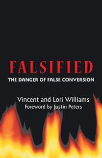 Are you a false convert?  Check yourself against the Word of God.  Hear/read one couple's story of serving in a mega church for years only to realize they didn't understand the true Gospel.