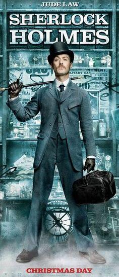 "sherlock holmes movie dr watson   Poster e banners de ""Sherlock Holmes"""