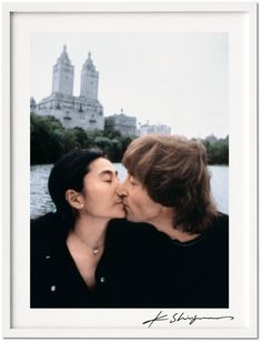 Kishin Shinoyama. John Lennon & Yoko Ono. Art Edition B #love #BEWED