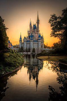 Jack Crouse WDW Castle Sunrise
