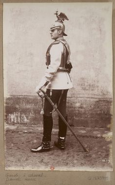 guard, chevel, Hussar? #Bibliotheque Nationale- rio wang Light Calvary.