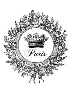 Paris ~~ Tour Eiffel - Le-temps-qui-passe Foto Transfer, Transfer Paper, Images Vintage, Vintage Pictures, Decoupage Vintage, Vintage Paper, Decoupage Jars, French Art, French Vintage