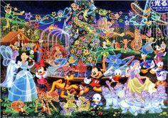 Tenyo Disney Magical Illumination Jigsaw Puzzle 2000 Pieces D 2000 534 Mickey | eBay Cute Disney, Disney Mickey, Disney Art, Disney Stuff, Walt Disney, Disney Ideas, Images Disney, Disney Pictures, Disney Jigsaw Puzzles